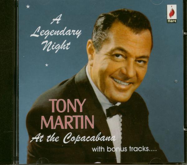 Tony Martin At The Copacabana - A Legendary Night (CD)