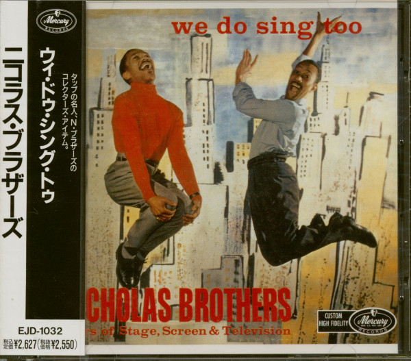 We Do Sing Too (CD, Japan)