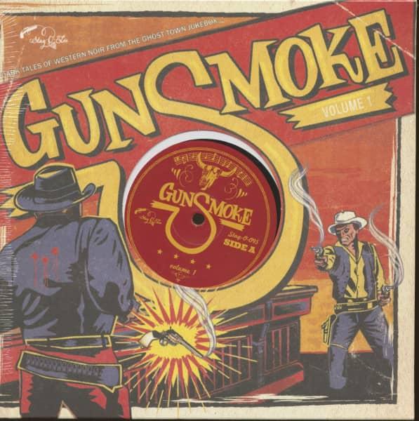 Gunsmoke Vol.1 - Dark Tales Of Western Noir (LP, 10inch)