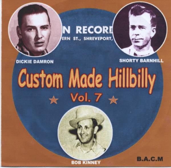 Custom Made Hillbilly Vol.7 (CD)