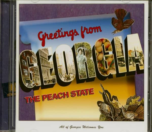Greetings From Georgia (CD)
