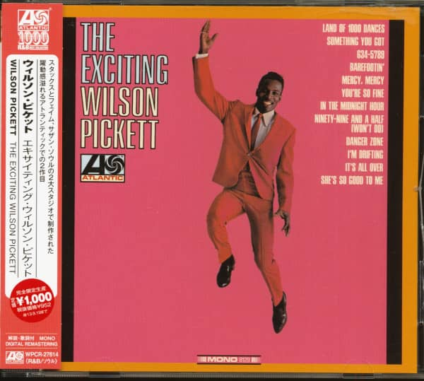 The Exciting Wilson Pickett (CD, Japan)