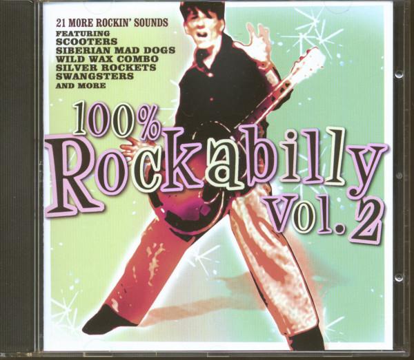 100% Rockabilly, Vol.2 (CD)