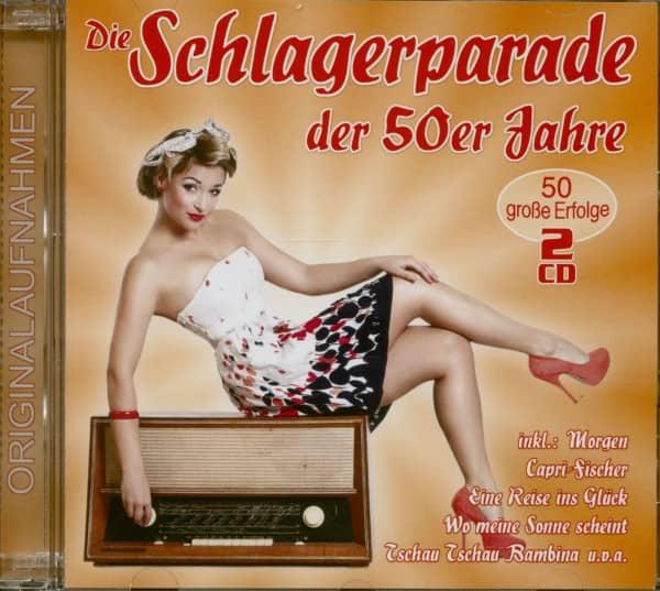 Die Schlagerparade der 50er Jahre (2-CD)