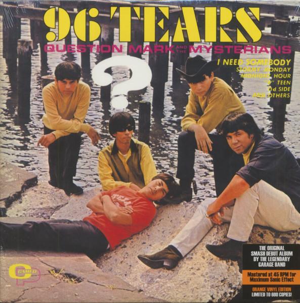 96 Tears (LP, 180g Orange Vinyl, 45rpm, Ltd.)