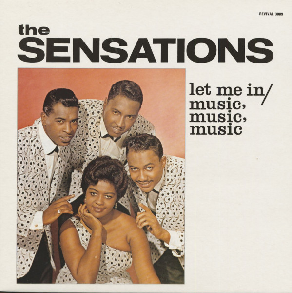 Let Me In - Music, Music, Music (LP)