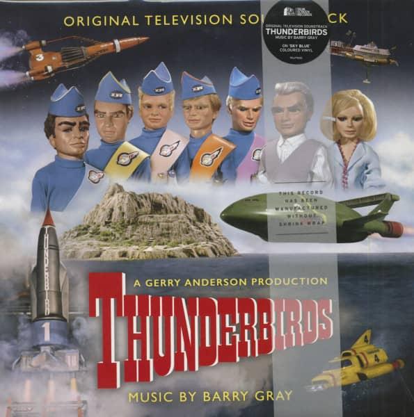 Thunderbirds - Original Television Soundtrack (2-LP, Colored Vinyl, Ltd.)