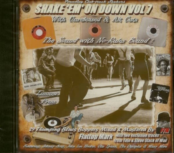 Shake 'Em On Down - Blues Boppers Vol.7 (CD)