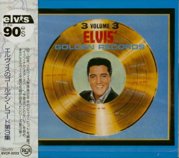 Elvis' Golden Records, Vol.3 (CD, Japan)