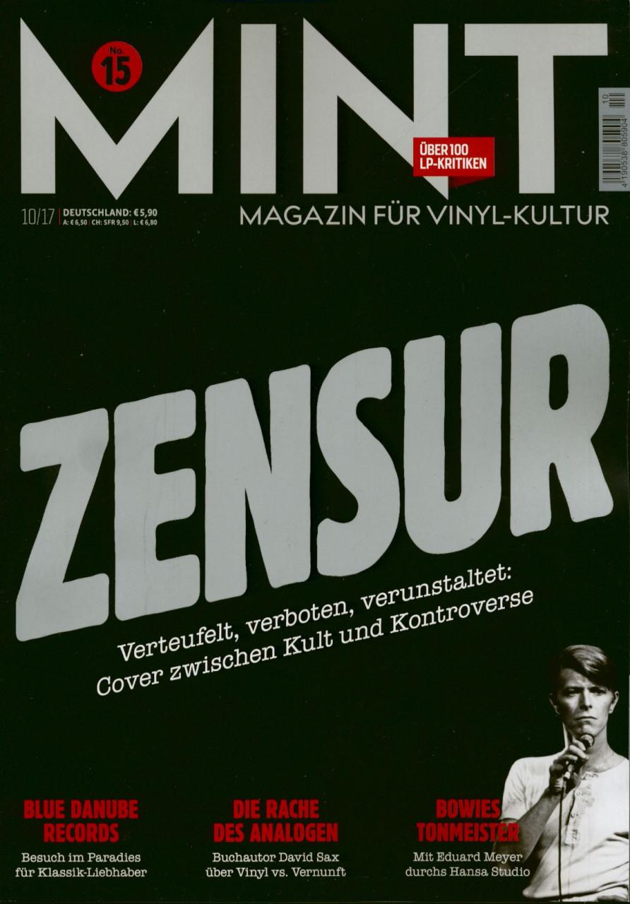 Mint - Magazin Für Vinyl Kultur - Mint Magazin #15