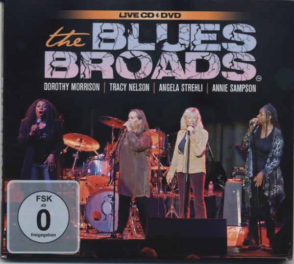 Blues Broads (CD-DVD)