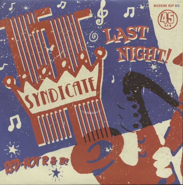 Last Night - No Money (7inch, 45rpm, PS)