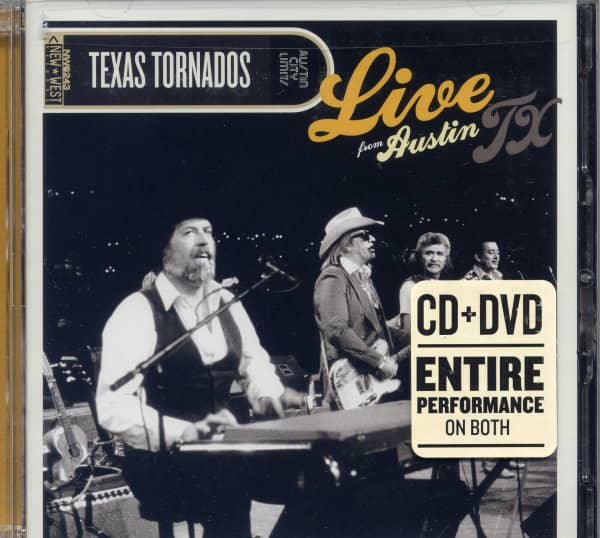 Live From Austin TX (CD&DVD)