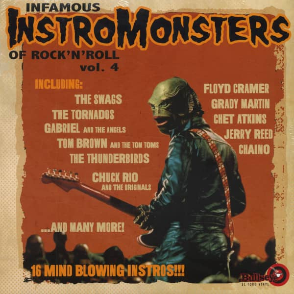 Infamous Instro Monsters Of Rock'n'Roll Vol.4 (LP)