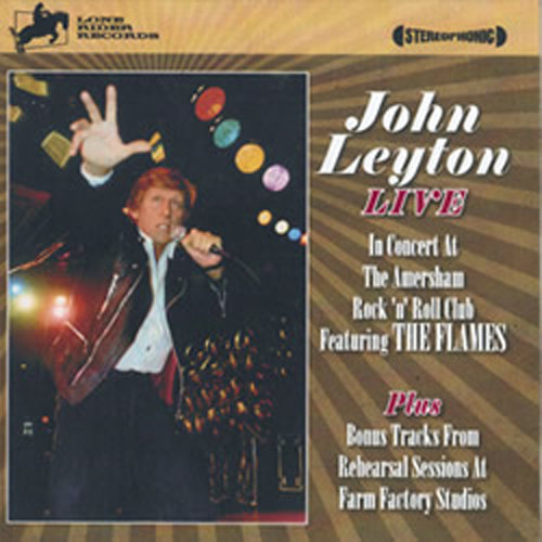 John Leyton & The Flames - Live In Concert