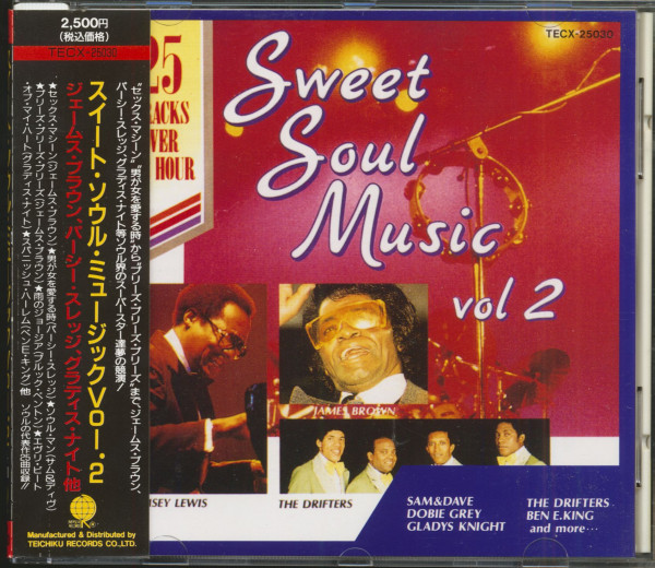 Sweet Soul Music Vol.2 (CD, Japan)