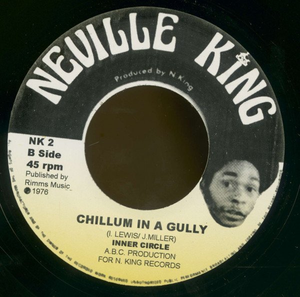 Jacob Miller, Tired Fe Lick Weed In A Bush - Inner Circle, Chillum In A Gully (7inch, 45rpm, BC)