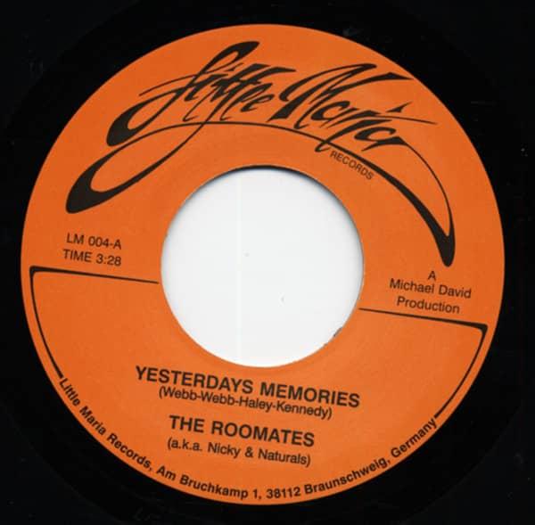 Yesterdays Memories b-w My Wishing Time (alt. Take) 7inch, 45rpm, SC