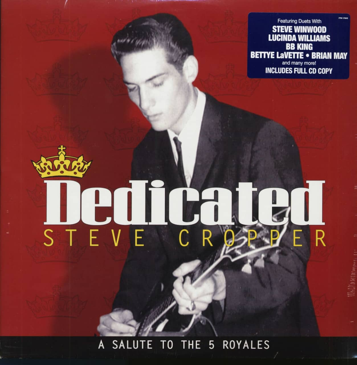 Steve Cropper LP: Dedicated - A Salute To The 5 Royales (LP & CD ...