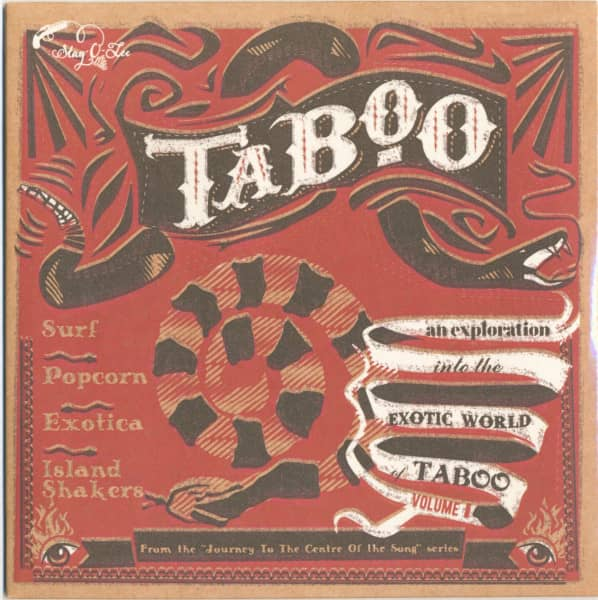 Taboo - Journey To The Center Of A Song Vol.1 (LP, 10inch)