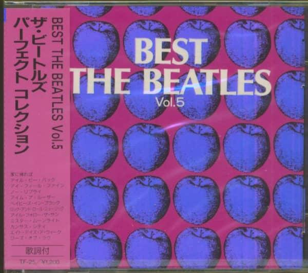 Best - The Beatles, Vol.5 (CD, Japan)