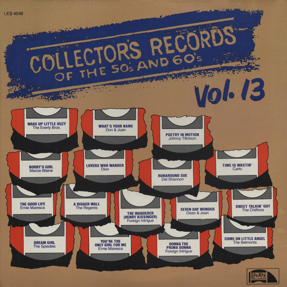 Collector's Records Of The 50s &ampamp; 60s Vol.13