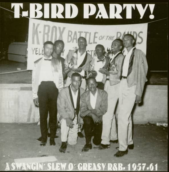 T-Bird Party - Greasy R&B 1957-1961 (CD)
