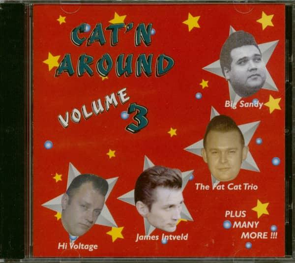 Cat'n Around Vol.3 (CD)