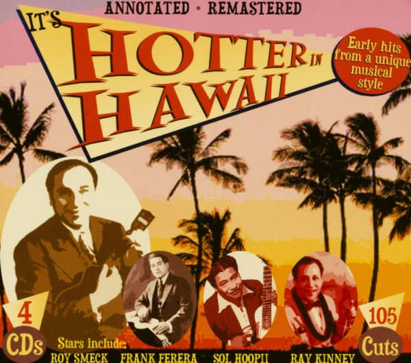 It's Hotter In Hawaii (4-CD)