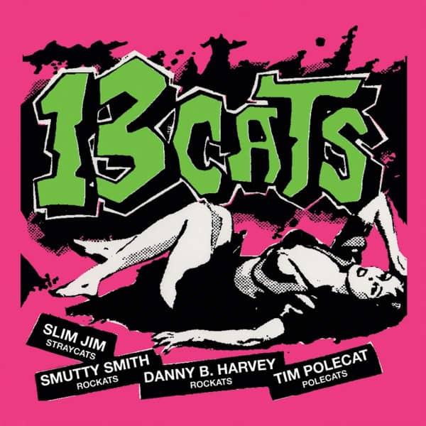 13 Cats 13 Tracks (LP, Pink Vinyl, Ltd.)