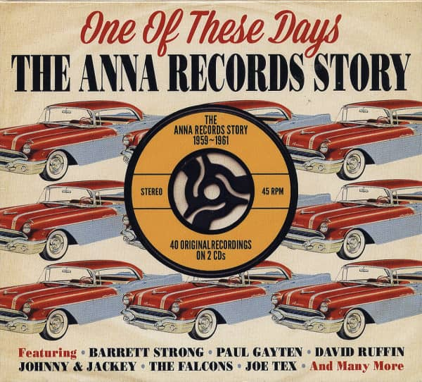 Anna Records Story - One Of These Days (2-CD)