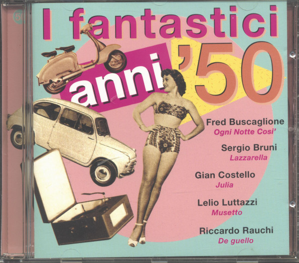 I Fantastici Anni '50 Vol.4 (CD)