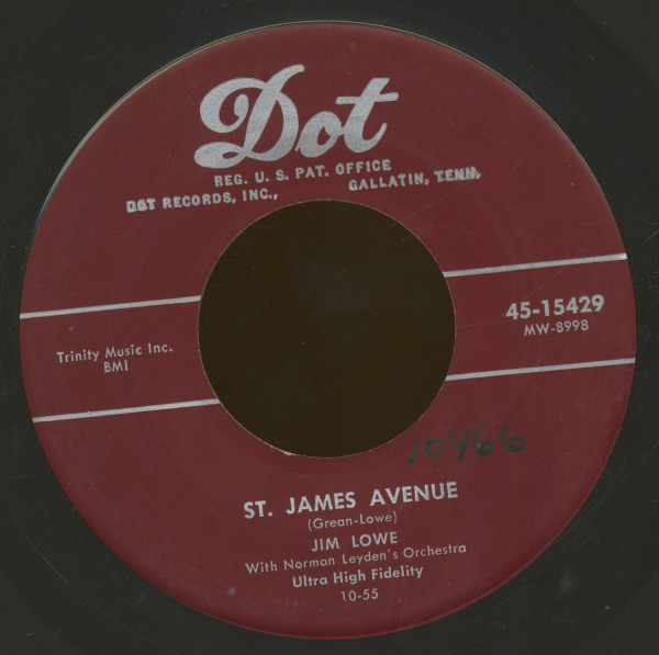 St. James Avenue - John Jacob Jingleheimer Smith (7inch, 45rpm)