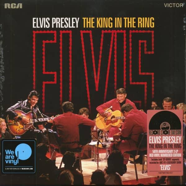 The King In The Ring - 1968 Acoustic Set (2-LP, Red Vinyl, Ltd., RSD)