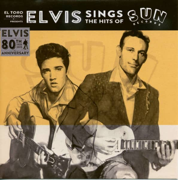 Sings The Hits Of SUN - black Vinyl (45rpm,EP,PS,BC)