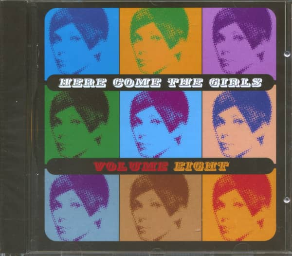 Here Come The Girls Vol.8 (CD)