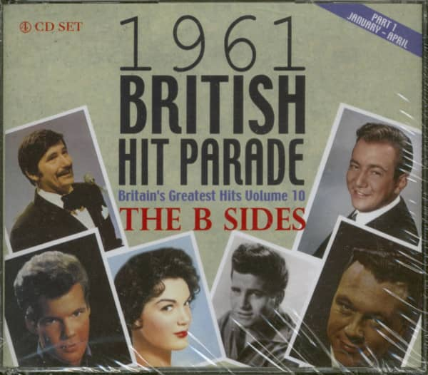 The 1961 British Hit Parade - Britain's Greatest Hits Volume 10 - The B Sides - Part 1 (4-CD)