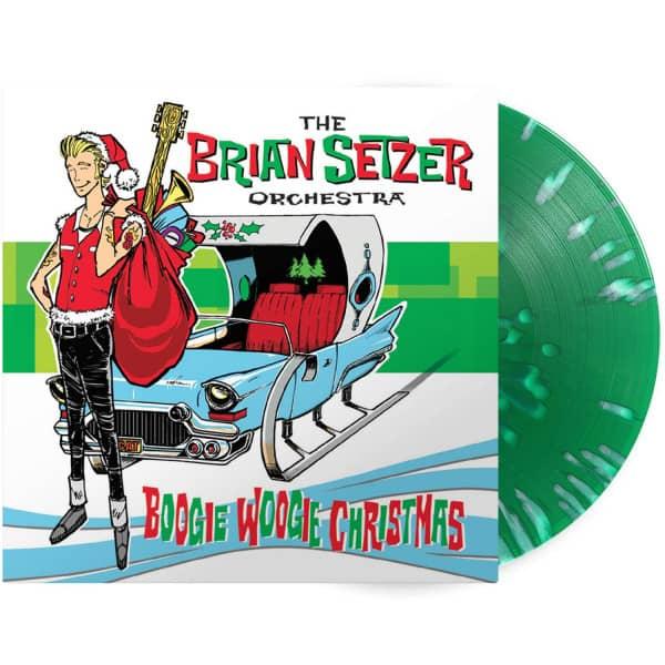 Boogie Woogie Christmas (LP, 180g Green Splatter Vinyl, Ltd.)