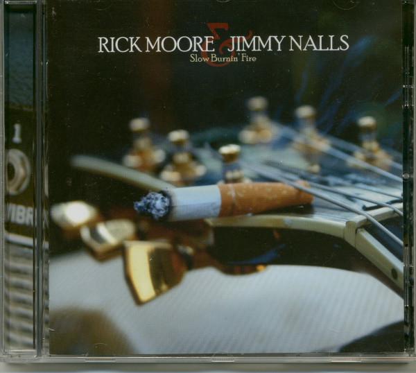 Slow Burnin' Fire (CD)