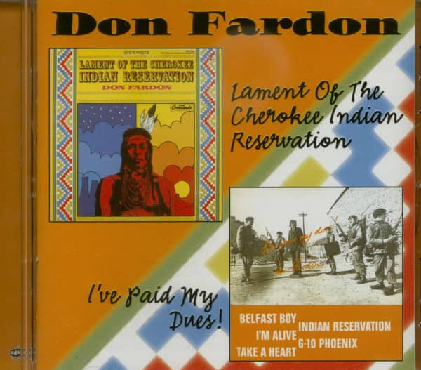 Indian Reservation - I´ve Paid My Dues (CD)