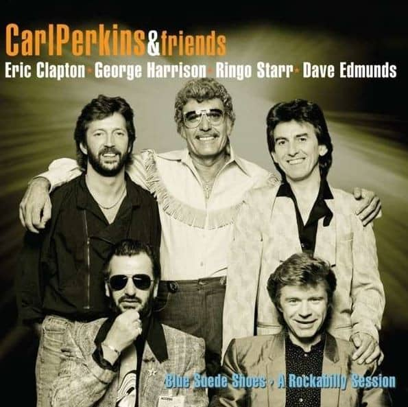 Carl Perkins & Friends: Blue Suede Shoes - A Rockabilly Session (2-LP, 10inch)