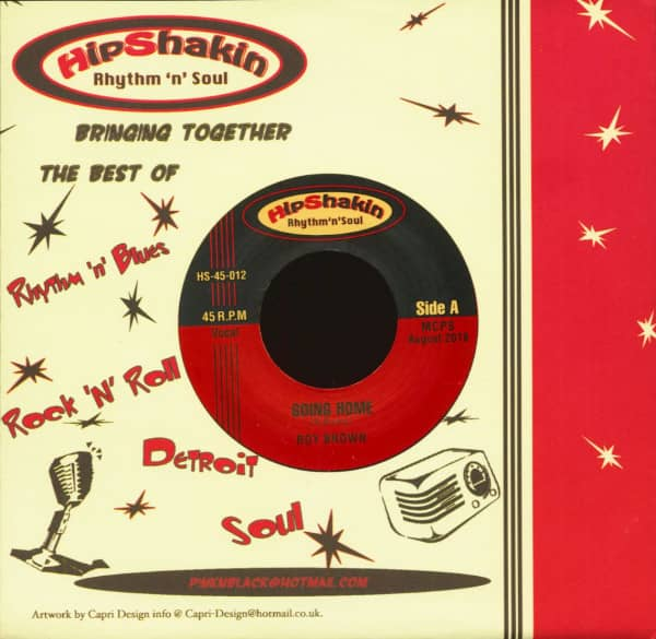 Roy Brown - Big Joe Turner (7inch, 45rpm, CS)