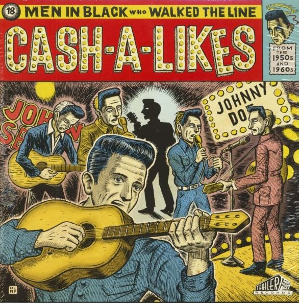 Cash-A-Likes - 18 Men In Black Who Walked The Line (LP, Ltd.)