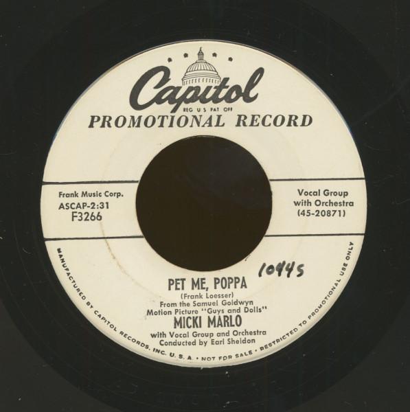 Pet Me Poppa - Like I Loved Nobody Before (7inch, 45rpm)