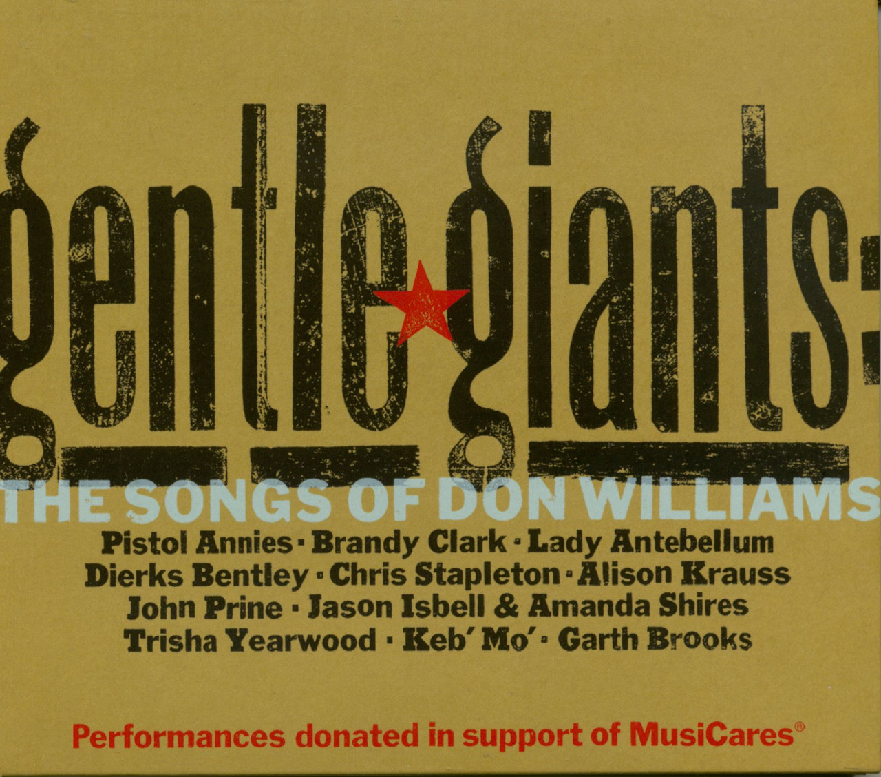 Various - Gentle Giants: The Songs Of Don Williams (CD)