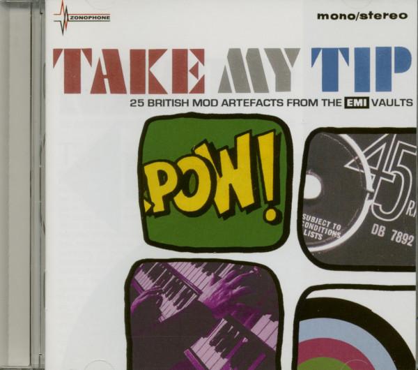 Take My Tip - 25 British Mod Artifacts (CD)