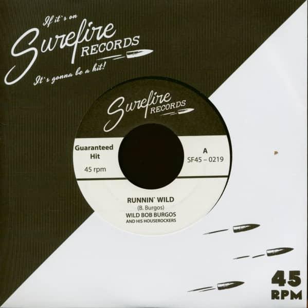 Runnin' Wild - A Lifetime Of Rockin' (7inch, 45rpm)