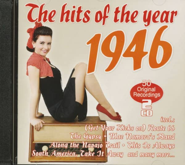 The Hits Of The Year 1946 - 50 Original Recordings (2-CD)