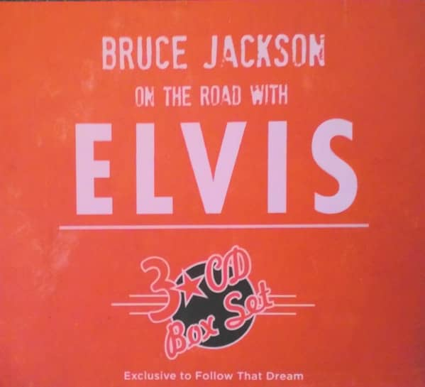 Bruce Jackson - On The Road With Elvis (Book & 3-CD, Ltd.)