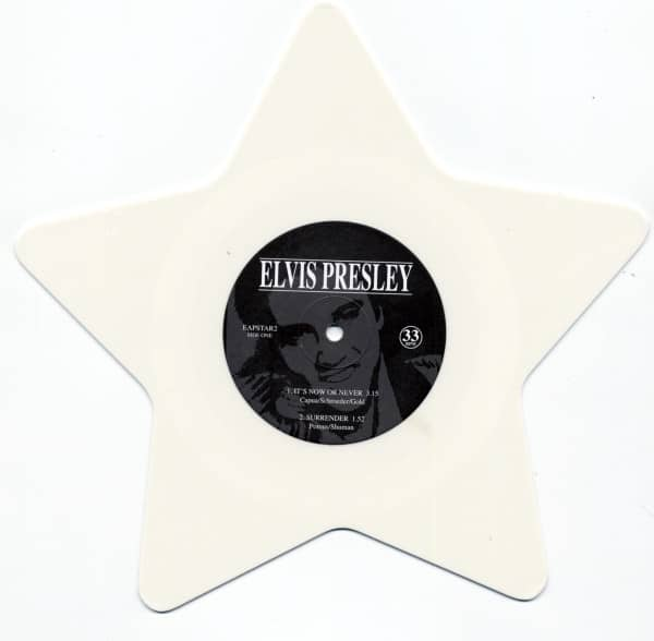 It's Now Or Never Shaped-EP (White Vinyl)